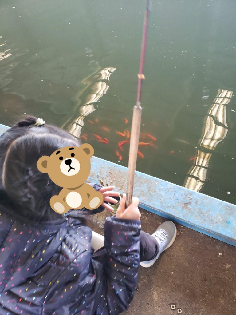 🎣釣り堀に行こう🐟